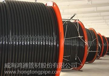 玻璃钢敷缆复合连续油管—井下采油