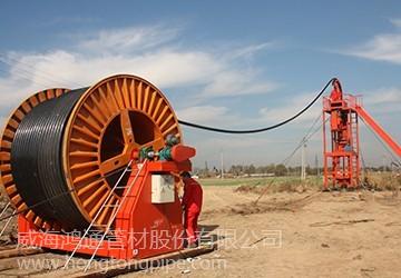 玻璃钢敷缆复合连续油管—井下注水